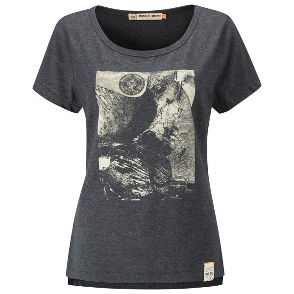 Moon Climbing - Women's Mother Cap Graphic Tee - T-Shirt