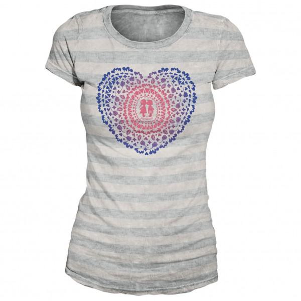 Alprausch - Women's Kussherz T-Shirt - T-paidat