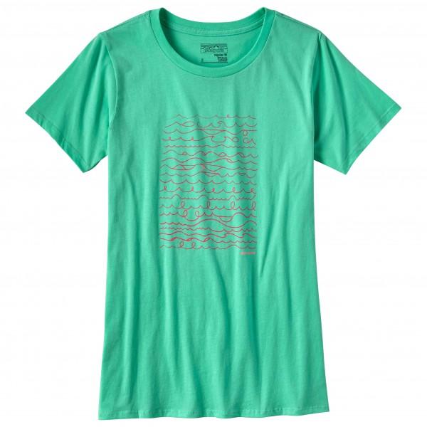Patagonia - Women's Surf Writer Cotton Crew T-Shirt - T-shirt