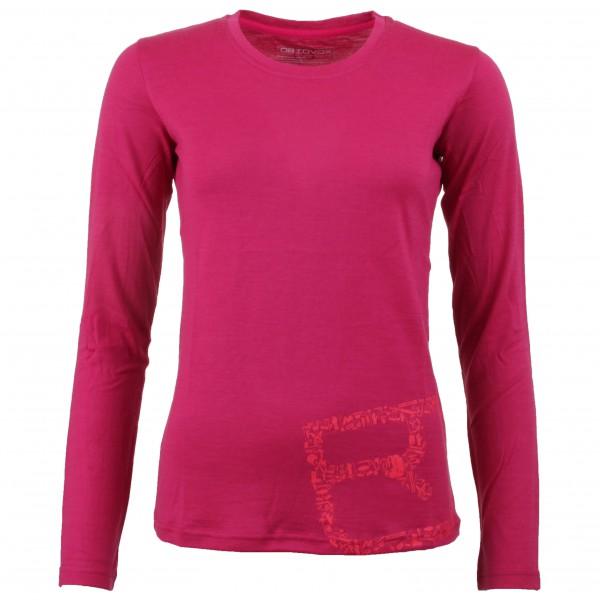 Ortovox - Women's Merino 185 Causal L/S - Merino ondergoed