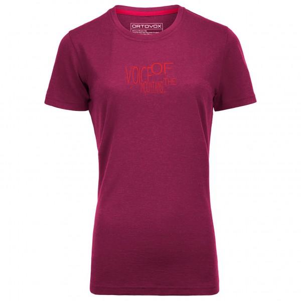 Ortovox - Women's Merino 185 Casual S/S - Merino ondergoed