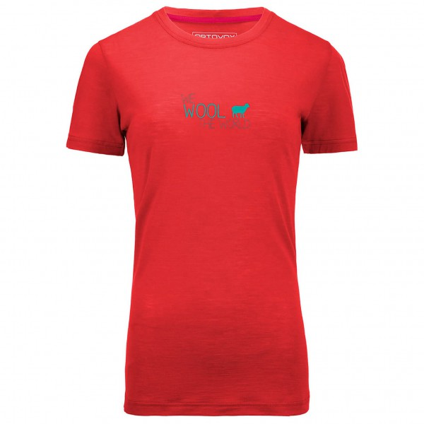 Ortovox - Women's Merino 150 World Print S/S - Merino-Shirt