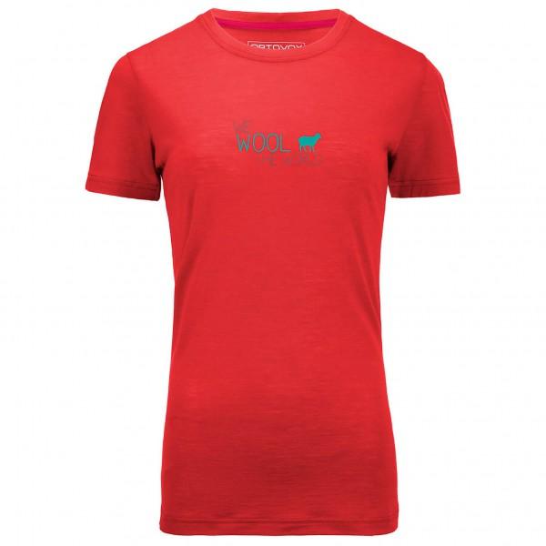 Ortovox - Women's Merino 150 World Print S/S - Merino shirt