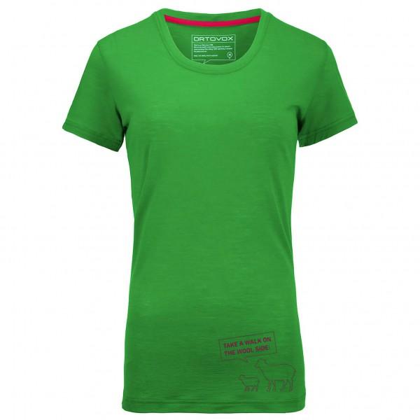 Ortovox - Women's Merino 150 Slogan Print S/S - Merino-Shirt