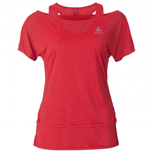 Odlo - Women's Hologram T-Shirt S/S 2-in-1 - Laufshirt