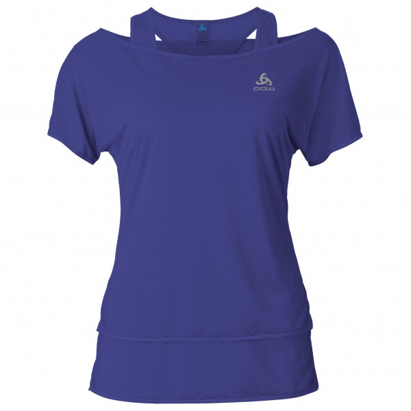 Odlo - Women's Hologram T-Shirt S/S 2-in-1 - Running shirt