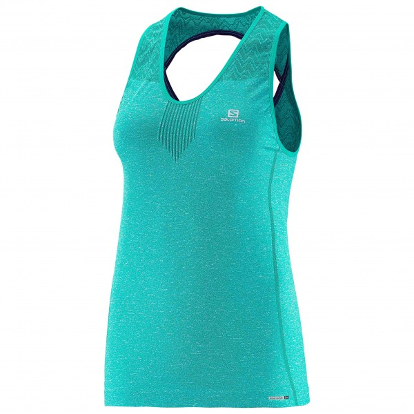 Salomon - Women's Elevate Seamless Tank - Juoksupaita