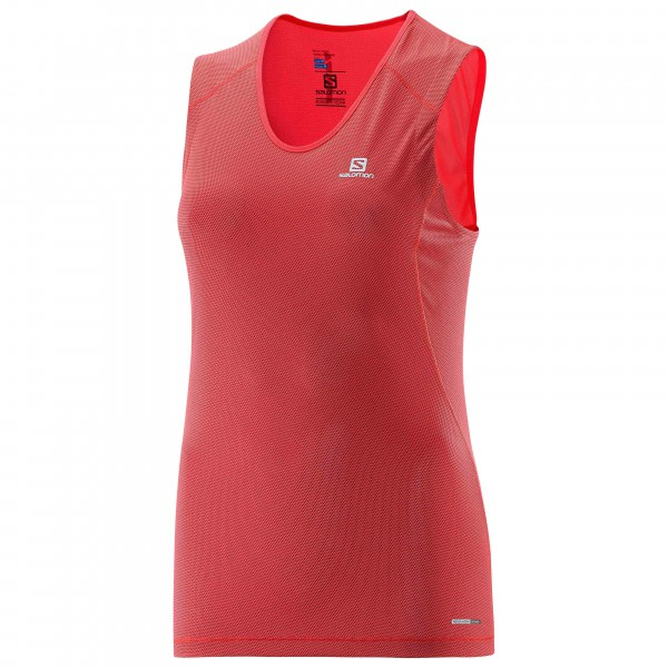 Salomon - Women's Trail Runner Sleeveless Tee - T-shirt de r