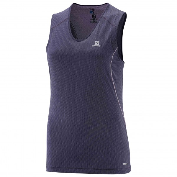 Salomon - Women's Trail Runner Sleeveless Tee - Løbeshirt
