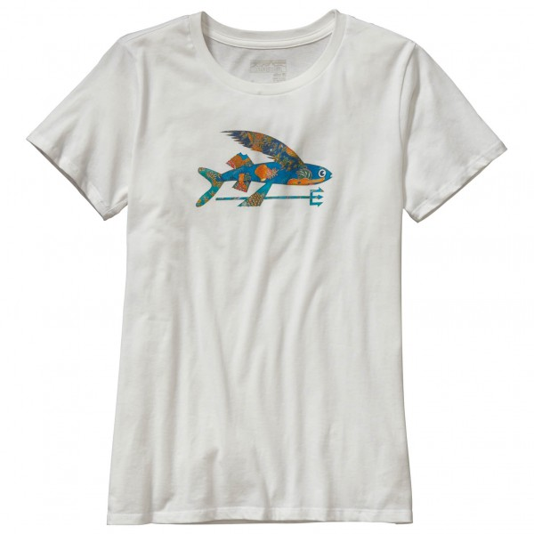 Patagonia - Women's Isle Wild Flying Fish Cotton Crew T