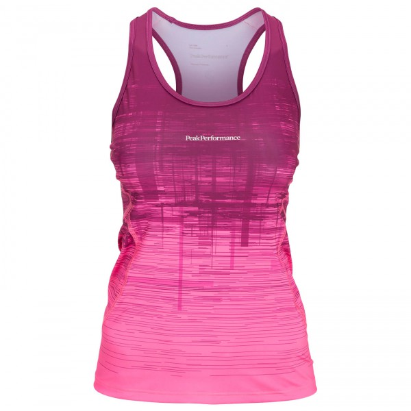 Peak Performance - Women's Cappis Print Top - Running shirt