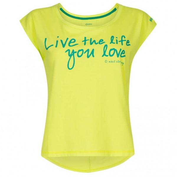 Nihil - Women's Love Livin' Tee - T-shirt