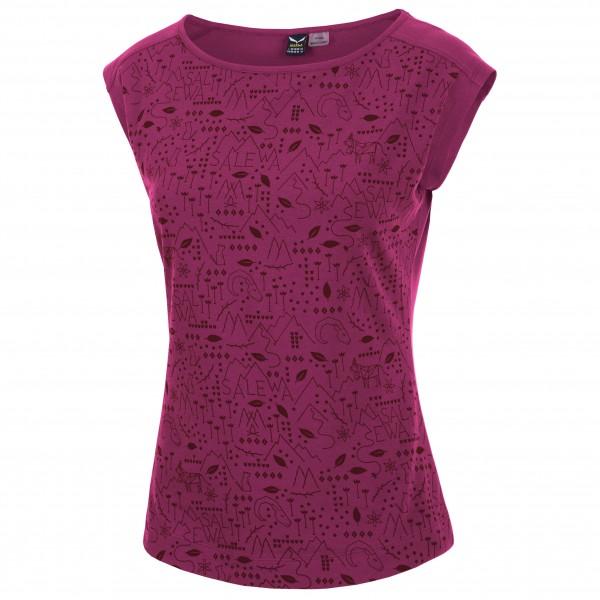Salewa - Women's Frea Mosaico Cotton S/S Tee - T-paidat