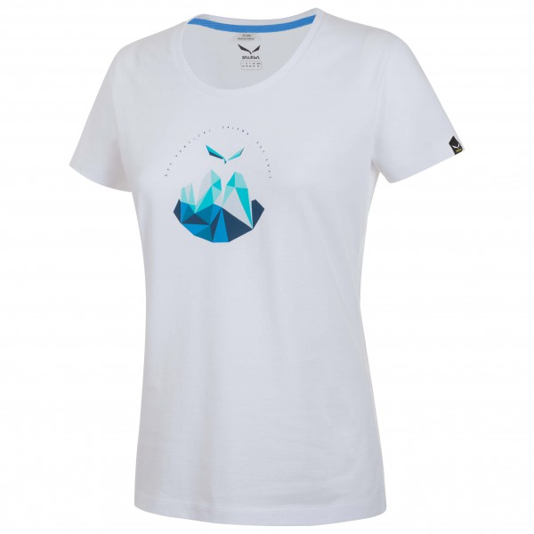 Salewa - Women's Get Vertical Cotton S/S Tee - T-paidat