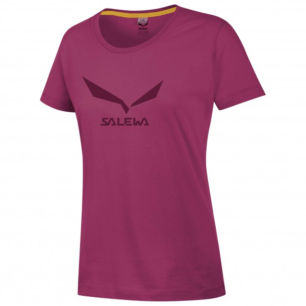 Salewa - Women's Solidlogo 2 Cotton S/S Tee - T-paidat