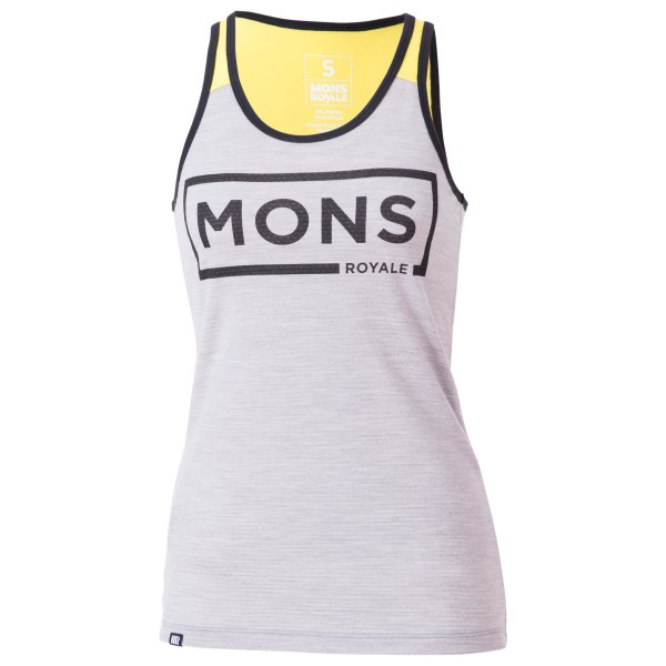 Mons Royale - Women's Racer Back Tank - Joggingshirt