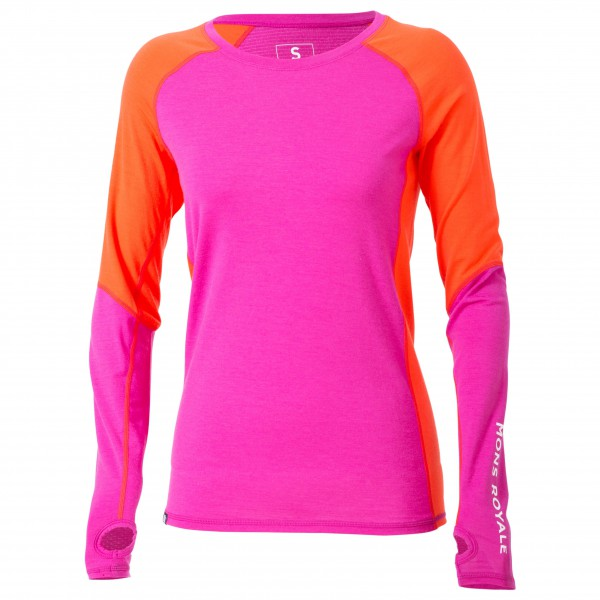 Mons Royale - Women's Supa Tech L/S - T-shirt de running