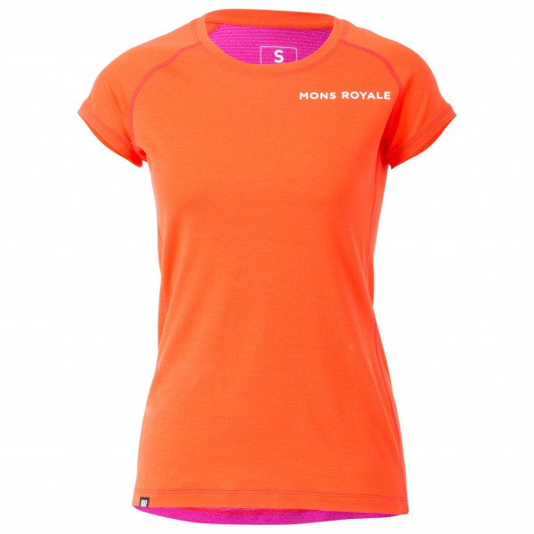 Mons Royale - Women's Tech Tee - Laufshirt