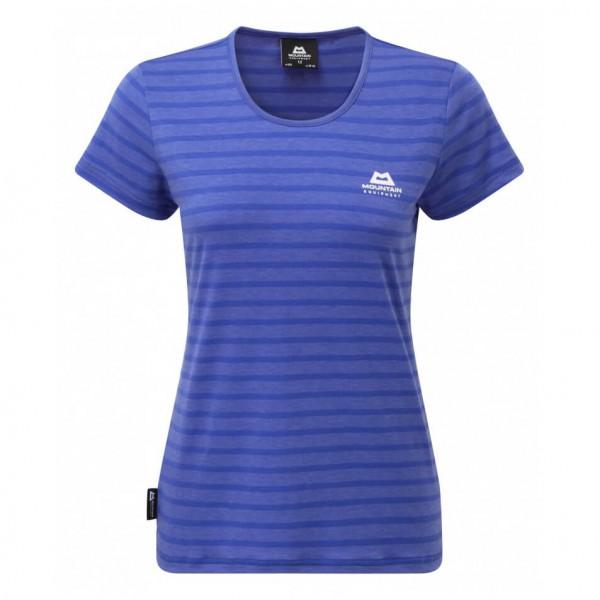 Mountain Equipment - Women's Groundup Stripe Tee - T-Shirt