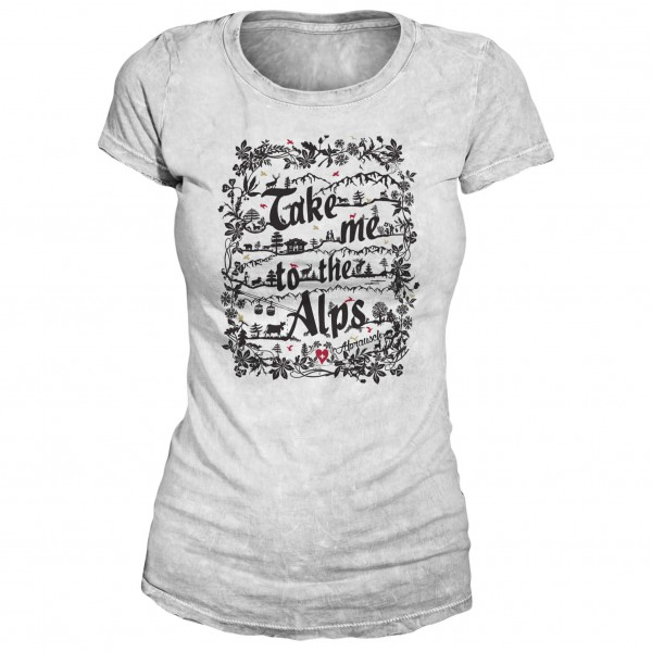 Alprausch - Women's Schärealp T-Shirt - T-paidat