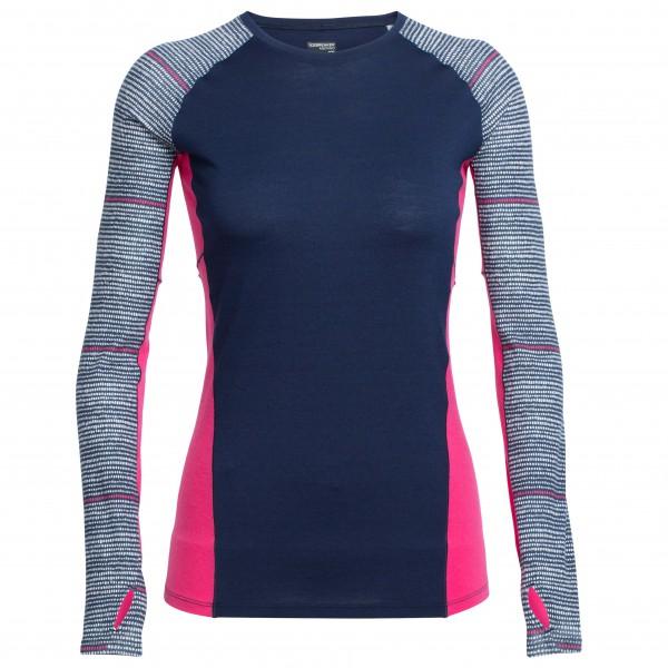 Icebreaker - Women's Comet L/S Crewe Impulse - Running shirt