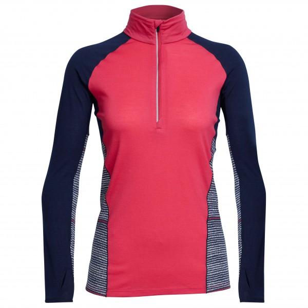 Icebreaker - Women's Comet L/S Half Zip Impulse - T-shirt de
