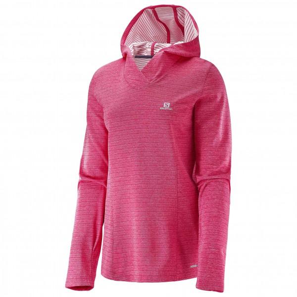 Salomon - Women's Elevate L/S Hoodie - Joggingshirt