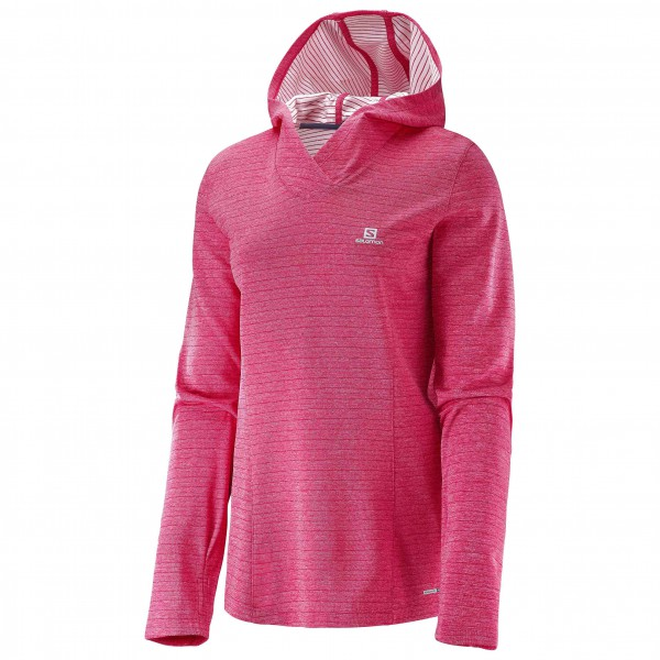 Salomon - Women's Elevate L/S Hoodie - T-shirt de running