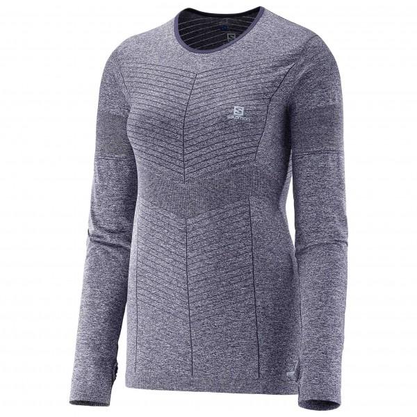 Salomon - Women's Elevate Seamless L/S Tee - Laufshirt