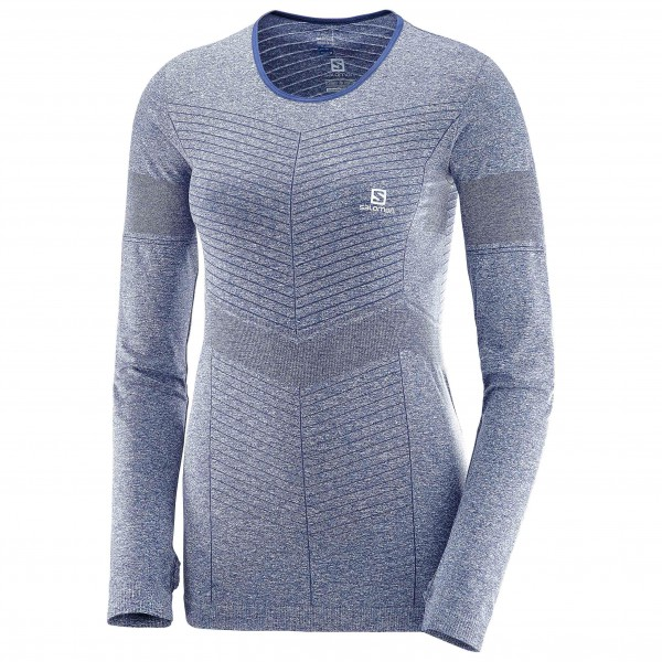 Salomon - Women's Elevate Seamless L/S Tee - Running shirt
