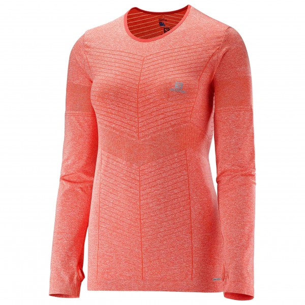 Salomon - Women's Elevate Seamless L/S Tee - Löpartröja