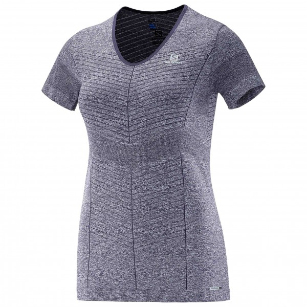 Salomon - Women's Elevate Seamless S/S Tee - Running shirt