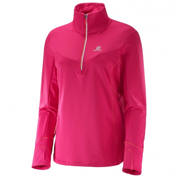 Salomon - Women's Trail Runner Warm Mid - T-shirt de running