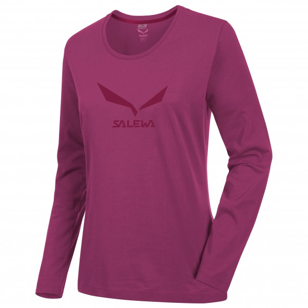 Salewa - Women's Solidlogo 2 Co L/S Tee - Long-sleeve