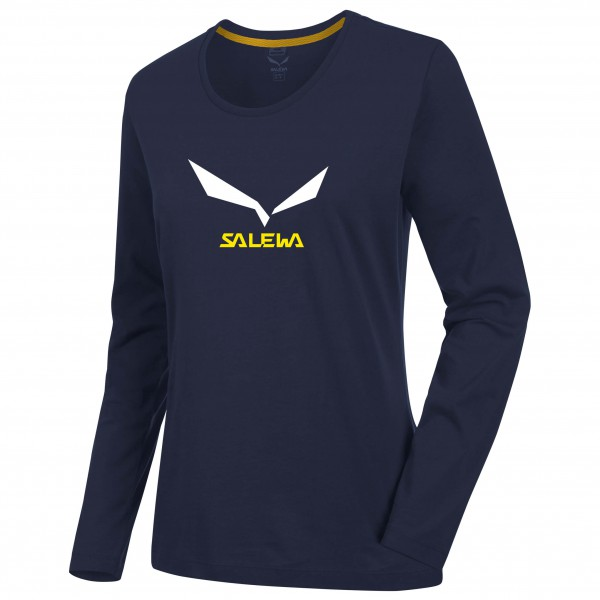 Salewa - Women's Solidlogo 2 Co L/S Tee - Manches longues