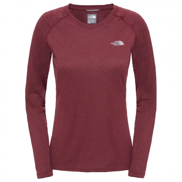 The North Face - Women's Reaxion Amp L/S Crew - Joogapaita