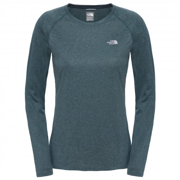 The North Face - Women's Reaxion Amp L/S Crew - Yoga shirt