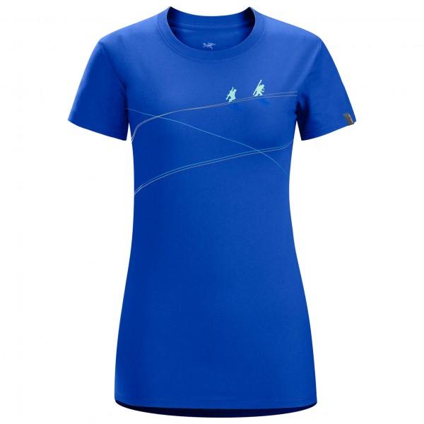 Arc'teryx - Women's Up slope S/S T-shirt - T-paidat