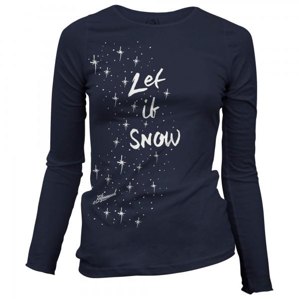 Alprausch - Women's Let It Snow - Longsleeve
