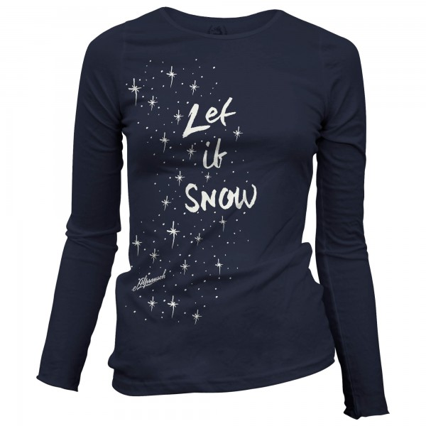 Alprausch - Women's Let It Snow - Longsleeve
