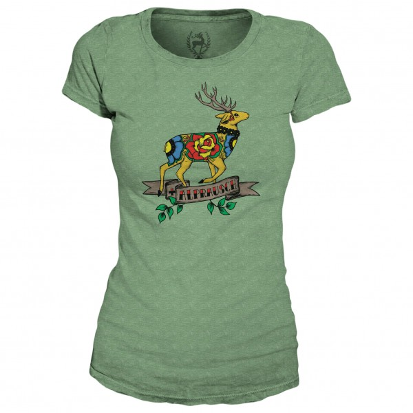 Alprausch - Women's Tattoo Hirsch - T-Shirt