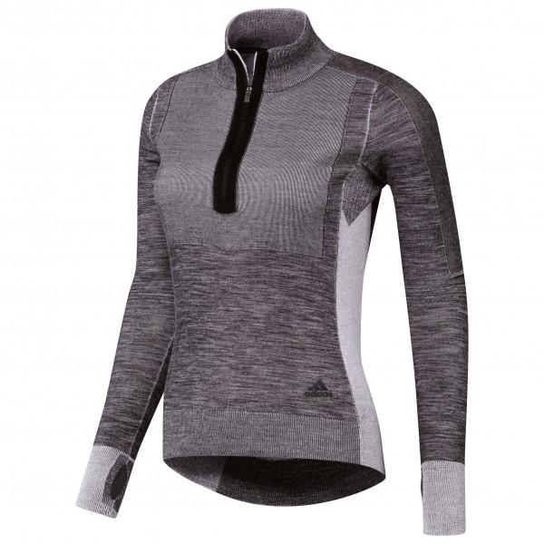 adidas - Women's Ultra Primeknit 1/2 Zip - T-shirt de runnin