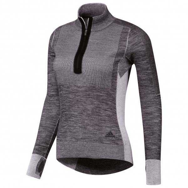 adidas - Women's Ultra Primeknit 1/2 Zip - Running shirt