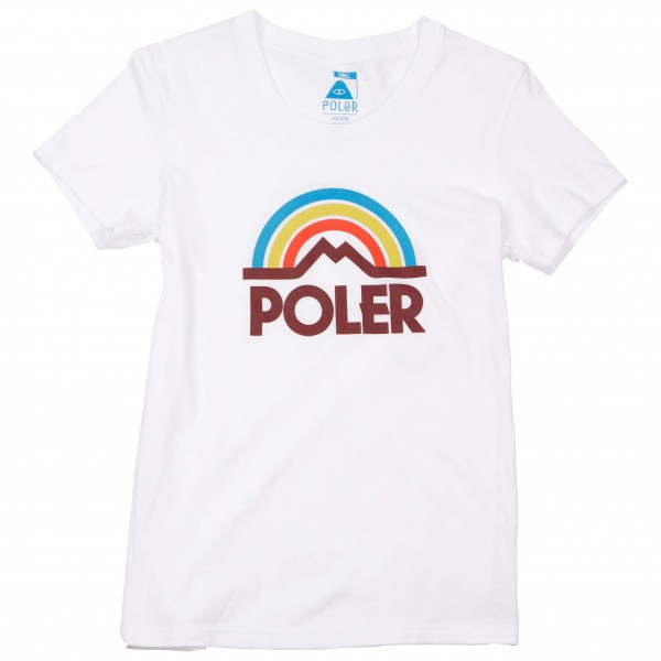 Poler - Women's Mountain Rainbow Tee - T-shirt
