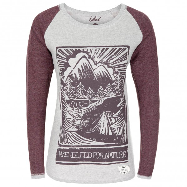 Bleed - Women's Camping Sweater - Long-sleeve