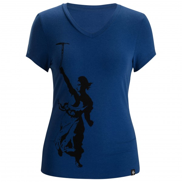 Black Diamond - Women's S/S Delacroix Tee - T-paidat