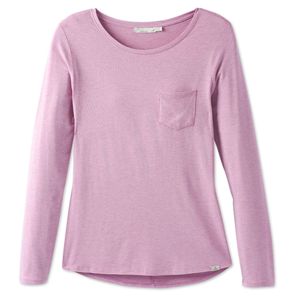 Prana - Women's Foundation L/S Crew Neck Top - Longsleeve