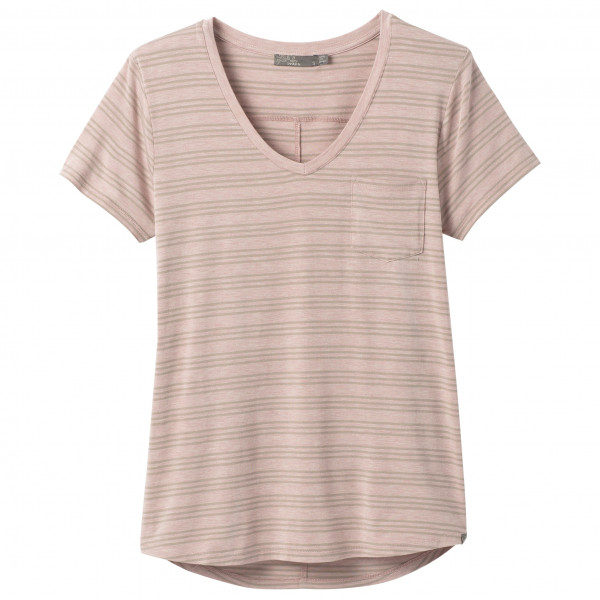 Prana - Women's Foundation S/S V-Neck Top - T-shirt