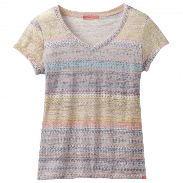 Prana - Women's S/S Portfolio V-Neck Top - Camiseta de manga corta