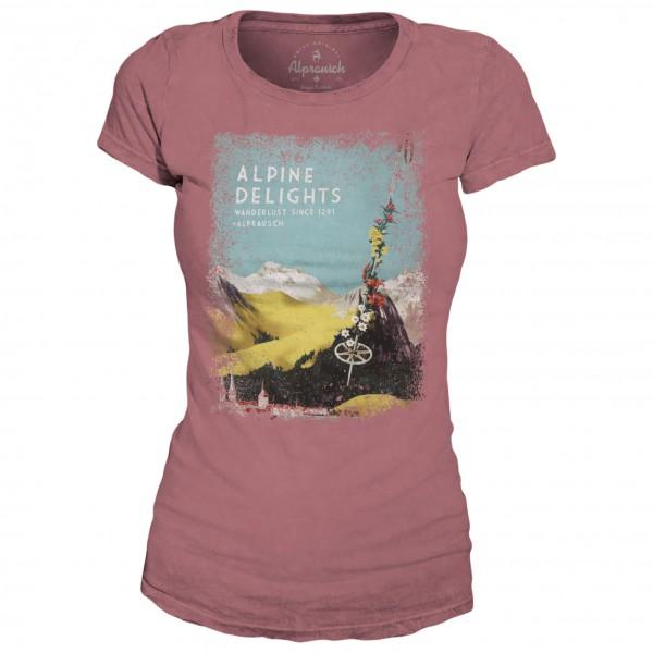 Alprausch - Women's Alpstöckli T-Shirt - Camiseta de manga corta